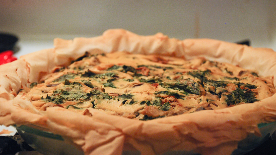 Veggie and Tofu Quiche